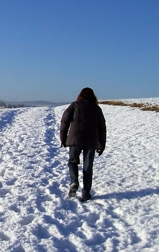 En daglig promenad är en bra fysisk aktivitet