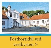 Herregård ved den jyske vestkyst
