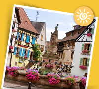 Sommerferie i Alsace