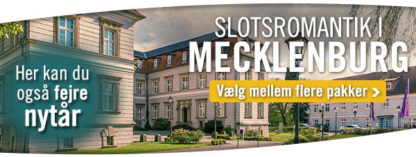 Slotsferie i Mecklenburg-Vorpommern