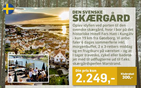 Sommer i den svenske skærgård