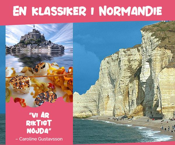 Semester i franska Normandie för hela familjen