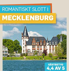 Romantisk slottssemester i Mecklenburg