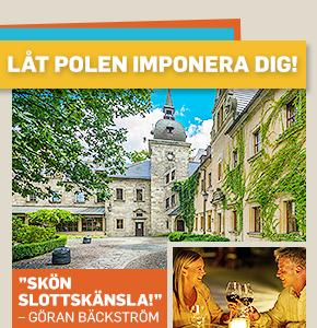 Förtrollande slottssemester i Polen