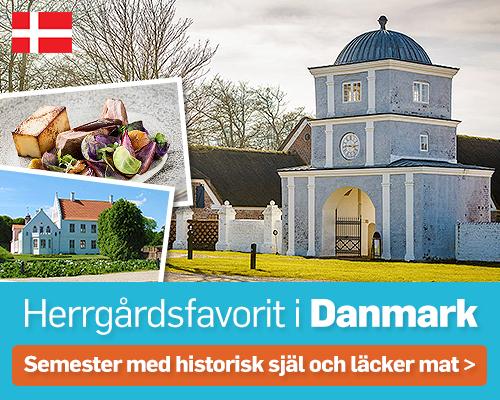Herrgårdssemester i Danmark
