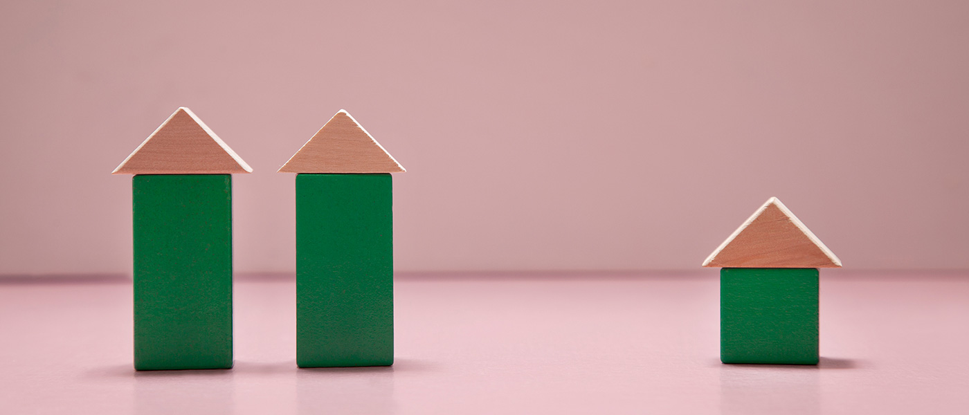 Bild-ID: sca0202. Lekklossar formade som hus.