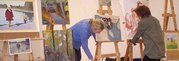 Målarkurser med Susanna Saliou Nygren