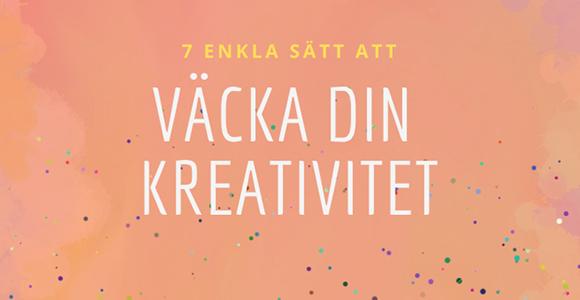 Väck din kreativitet