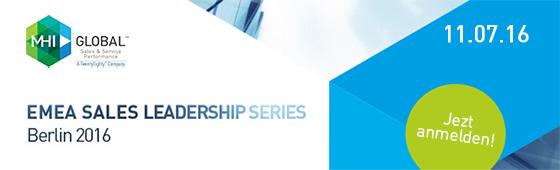 MHI GLOBAL - EMEA SALES LEADERSHIP SERIES Berlin 2016