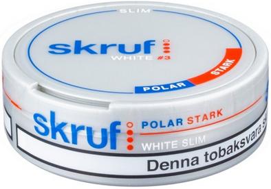 Back from the Dead: Skruf Slim White Polar Strong Portion Snus!