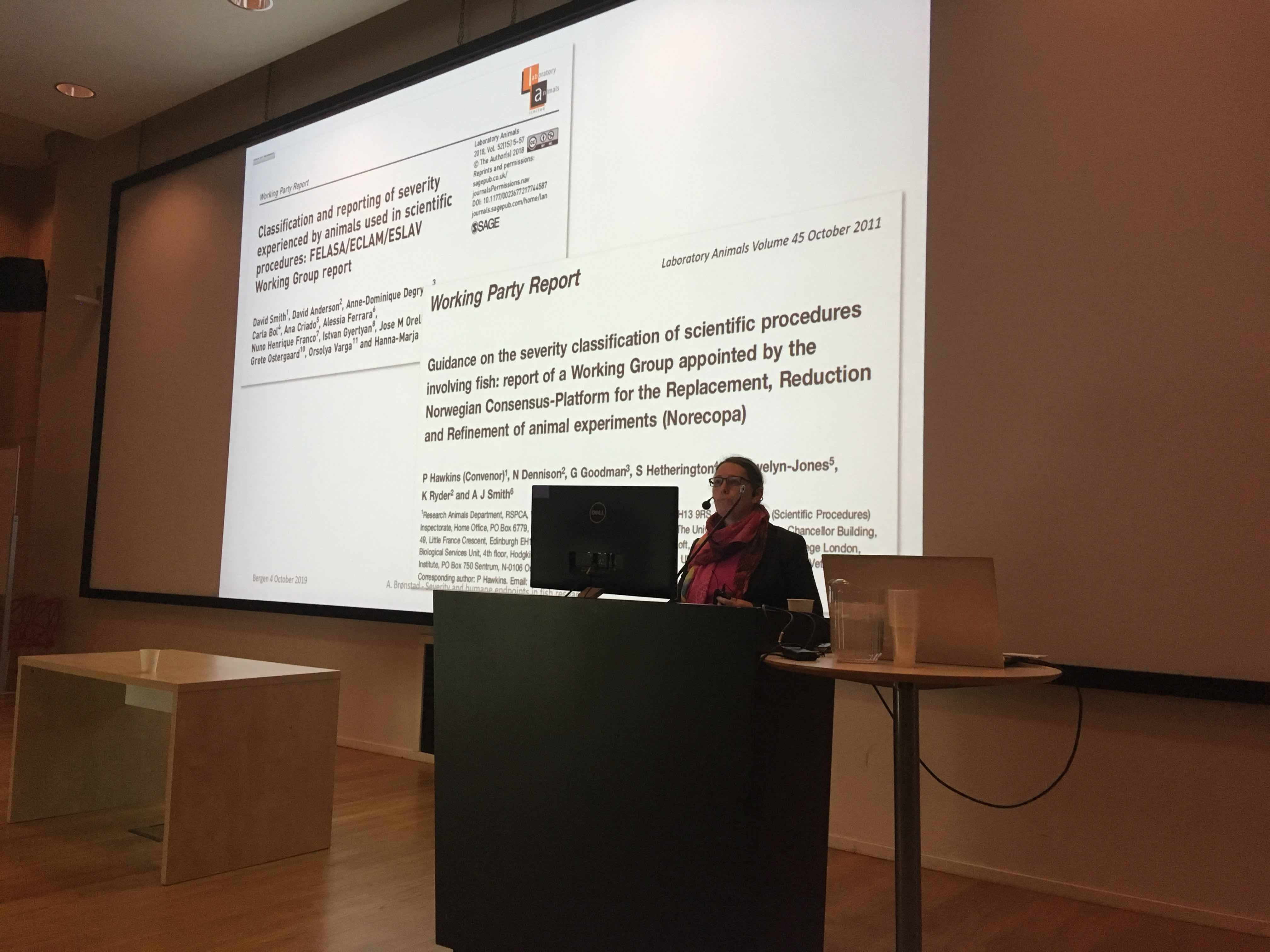 Aurora Brønstad organised the seminar