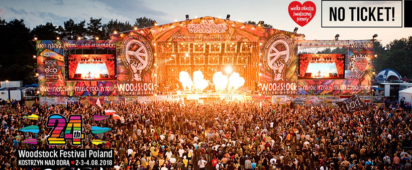 Foto: PolAndRock Festival 2018 (Woodstock Festival Poland)