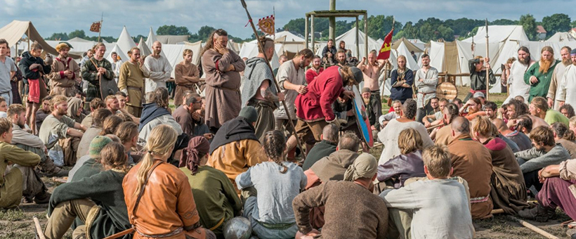 Foto: Festiwal Słowian i Wikingów (Slaver och Vikingar)