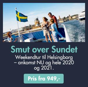 Get away på centrumhoteller i Helsingborg