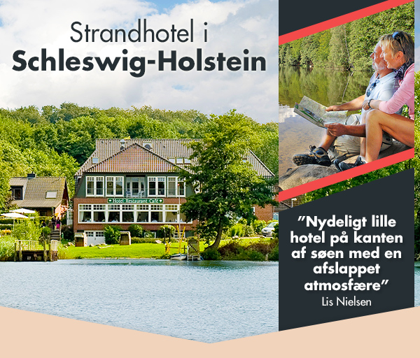 Miniferie på strandhotel i Schleswig-Holstein