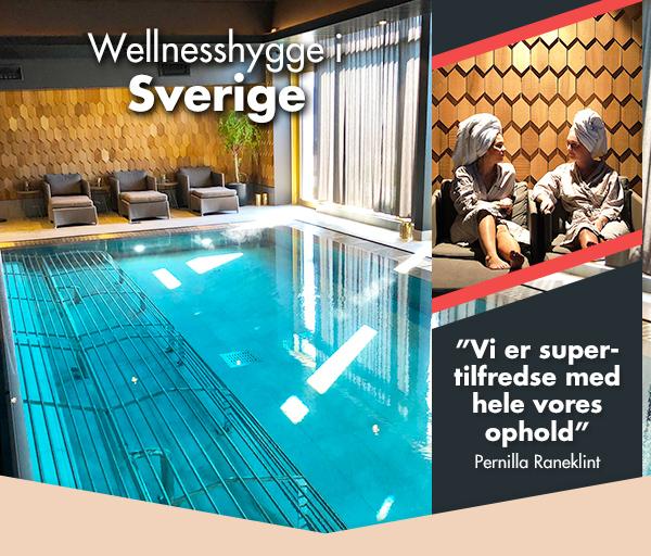 Wellnessferie på lækkert, svensk designhotel