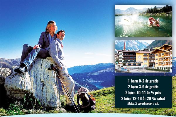 Book 8 dage i Tyrol inkl. mad, fri transport og vandrerkort