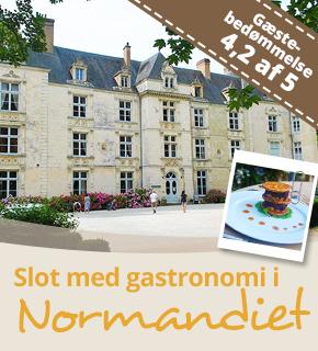 Bo på Château du Villeray i Normandiet og få en uforglemmelig slotsferie.