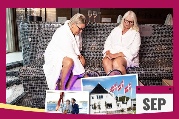Boka sensommarsemester på Hotel Faaborg Fjord Spa och Wellness i Danmark