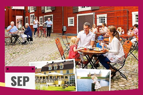 Boka sensommarsemester på Hotel Skansen på Öland