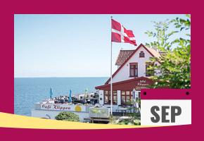 Boka sensommarsemester på Hotel Klippen på Bornholm.
