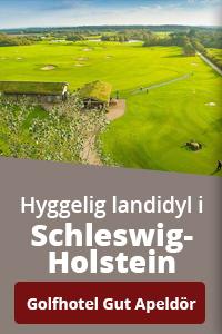 Book en miniferie på Golfhotel Gut Apeldör i Nordtyskland.