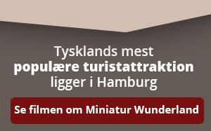 Se filmen om turistattraktionen Miniatur Wunderlund, som ligger i Hamburg.
