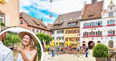 Vinsemester på historiskt hotell i Sydtyskland och Alsace
