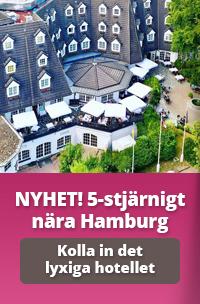 Boka en lyxig 5-stjärnig minisemester på Waldhaus Reinbek utanför Hamburg
