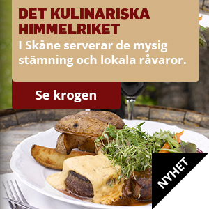 Gourmetvistelse i Skåne