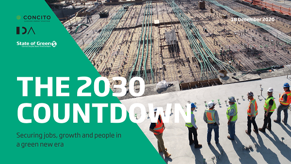 The 2030 Countdown – Securing jobs, growth and people in a green new era