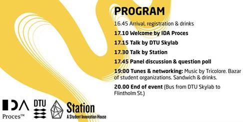 Sustainable Transition Together - Talks & Tunes at DTU Skylab