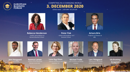 European Business Forum 2020 - online event